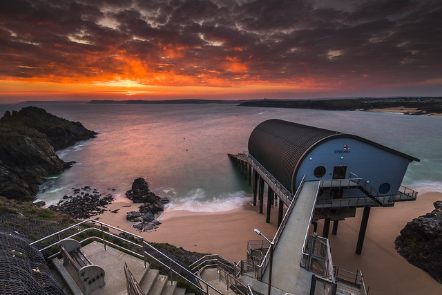 Padstow Lifeboat Station Sunrise