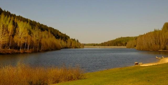 Talsperre Falkenstein/Vogtland -Dam falcon's stonsteward's lande