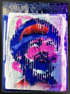MR. FAHRENHEIT classic paste up, 2014, London