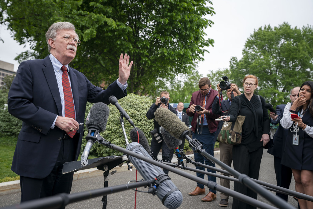 Ambassador John Bolton Speaks to Press