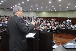 O terceiro encontro do calendário de atividades do 23º Ciclo de Debates com Dirigentes Municipais e Lideranças Políticas aconteceu, na quinta-feira (25/4), nas dependências da Câmara Municipal de Itapeva.