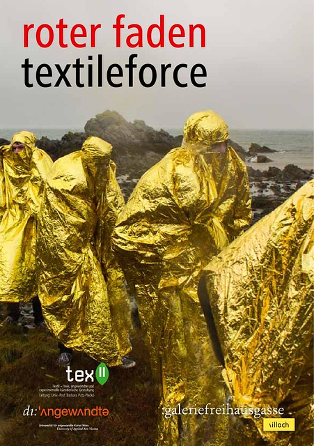 textile force  / roter faden