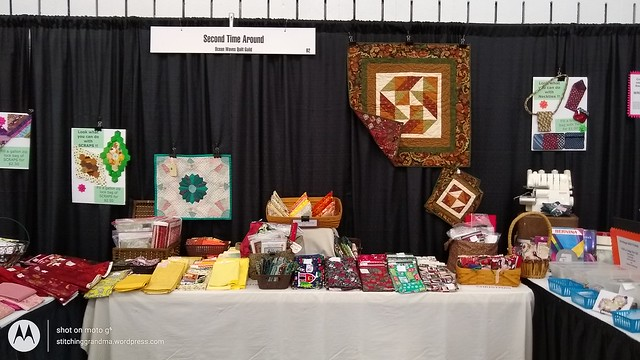 2nd Time Around Booth for the Quilt Show