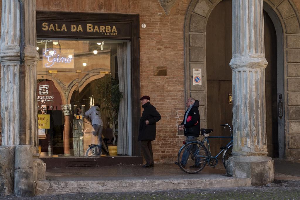 Bologna - Portico di Via S.Stefano