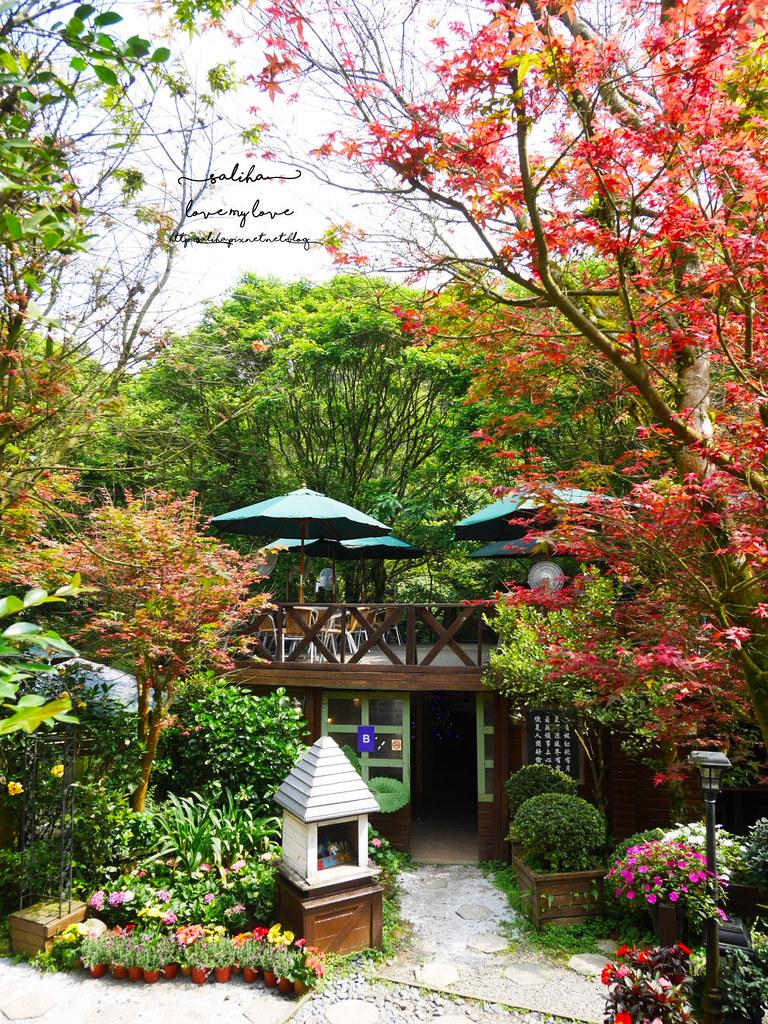 陽明山必玩一日遊好玩景點推薦平菁街台北奧萬大楓葉季景觀咖啡餐廳下午茶 (3)