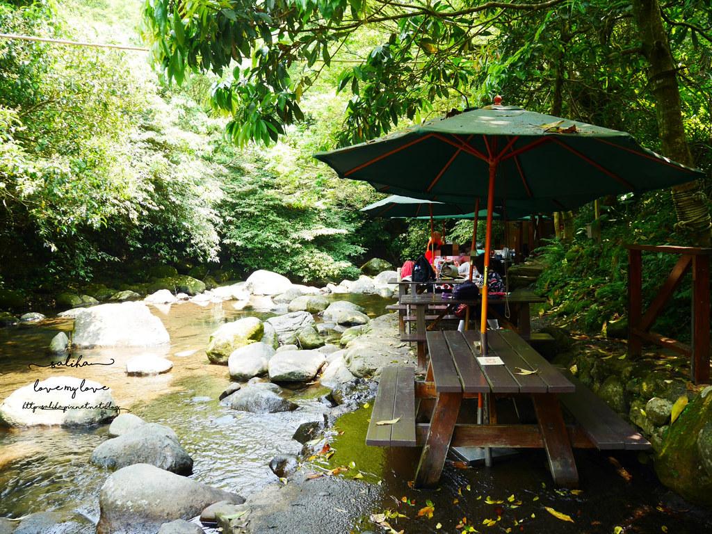 陽明山景點推薦台北奧萬大夏天溪邊親子戲水玩水 (2)