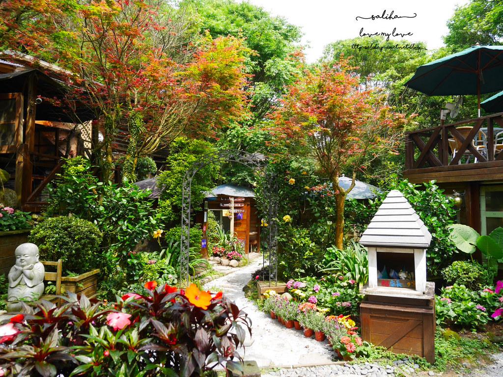 陽明山必玩一日遊好玩景點推薦平菁街台北奧萬大楓葉季景觀咖啡餐廳下午茶 (4)