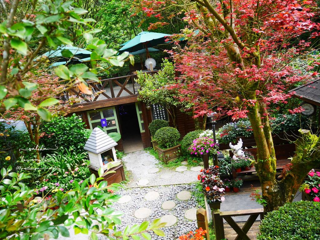 陽明山必玩一日遊好玩景點推薦平菁街台北奧萬大楓葉季景觀咖啡餐廳下午茶 (2)