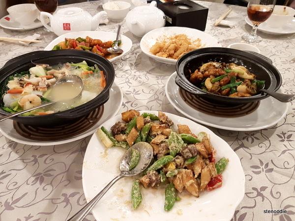 Fu Weng Seafood Restaurant dinner