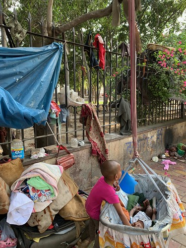Home Sweet Home - A Mother's Handmade Cradle, Central Delhi Pavement