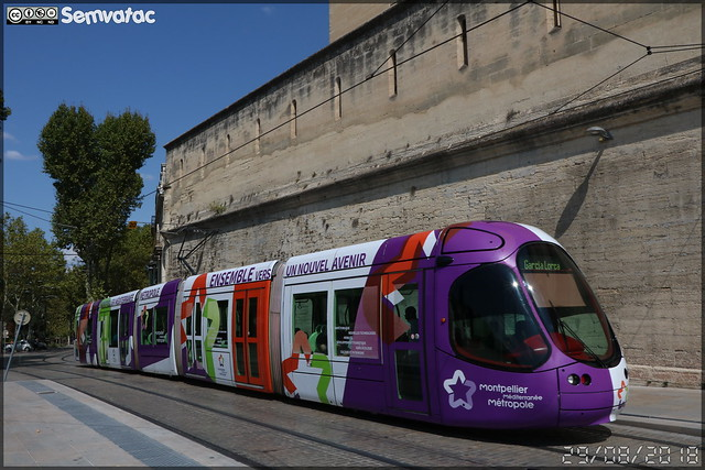 Alstom Citadis - Tam Montpellier 3M (Transports Alternatifs de Montpellier Méditerranée Métropole)