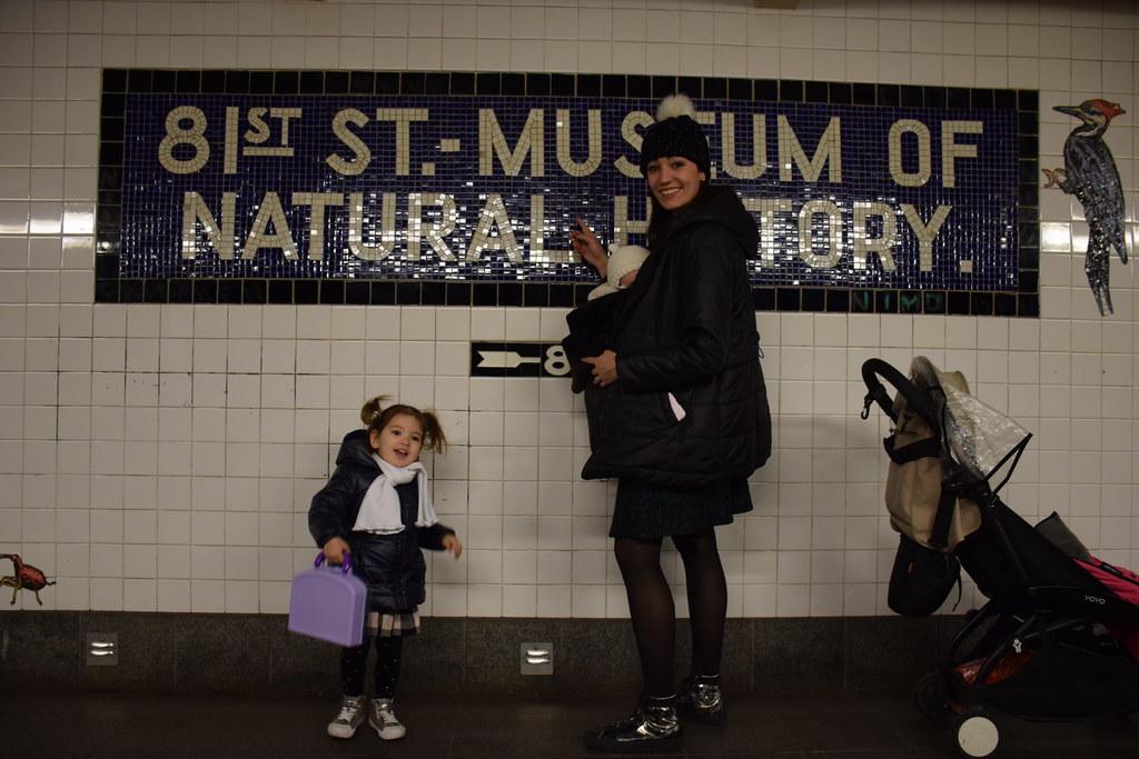 También hay planes muy chulos para padres y niños: yendo al Museo de Ciencias Naturales de Nueva York