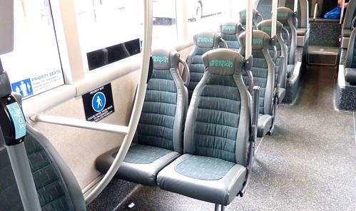 YN19 EEV 'Nottingham City Transport' No. 462 'Brown Line 17'. Scania N280UD / Alexander Dennis Ltd. Enviro 400CBG City /4 on Dennis Basford's railsroadsrunways.blogspot.co.uk'