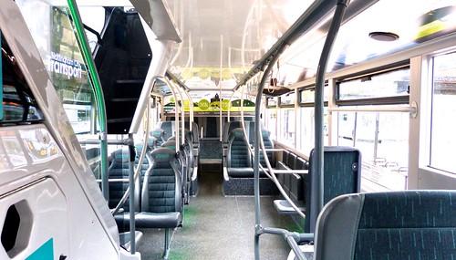 YN19 EEV 'Nottingham City Transport' No. 462 'Brown Line 17'. Scania N280UD / Alexander Dennis Ltd. Enviro 400CBG City /3 on Dennis Basford's railsroadsrunways.blogspot.co.uk'