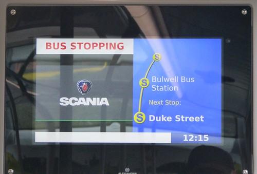 YN19 EEV 'Nottingham City Transport' No. 462 'Brown Line 17'. Scania N280UD / Alexander Dennis Ltd. Enviro 400CBG City /7 on Dennis Basford's railsroadsrunways.blogspot.co.uk'