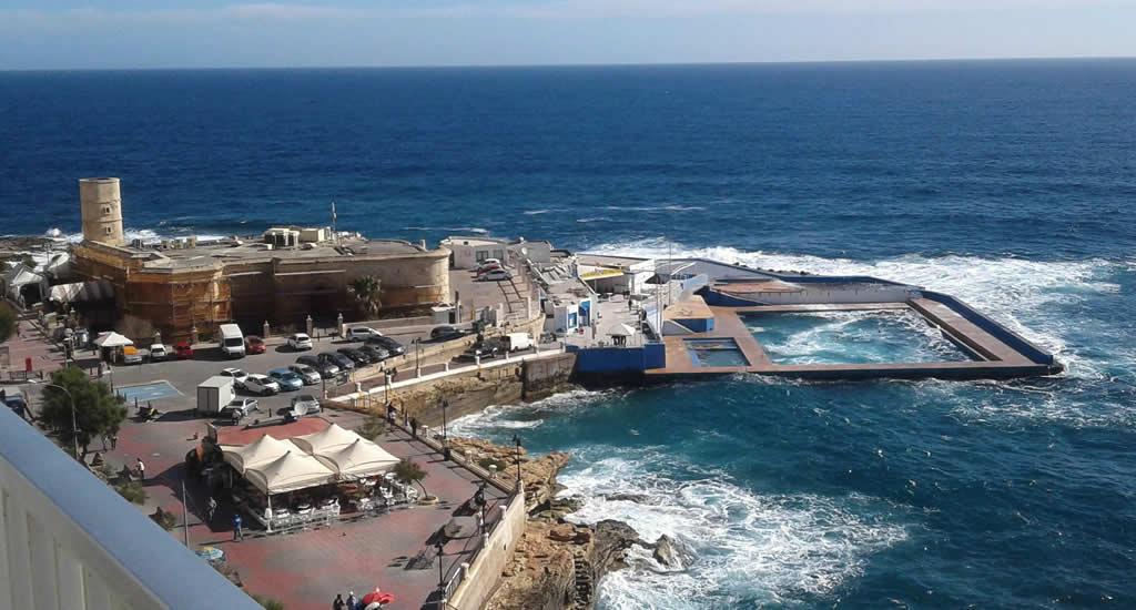 Zien en doen in Sliema, Malta