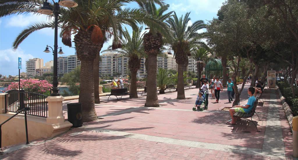 Sliema, Malta: de boulevard | Malta & Gozo