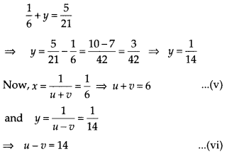 NCERT Exemplar Class 10 Maths Chapter 3 Pair of Linear Equations in Two Variables 3.4 Q8b
