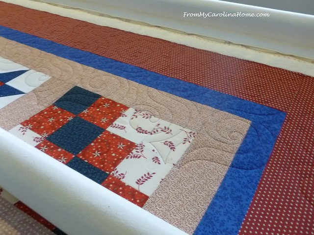 Sampler Quilt of Valor at FromMyCarolinaHome.com