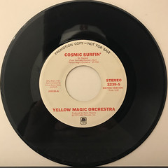 YELLOW MAGIC ORCHESTRA:COSMIC SURFIN'(RECORD SIDE-A)