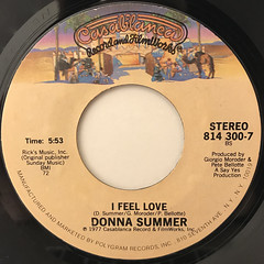 DONNA SUMMER:BAD GIRLS(LABEL SIDE-B)