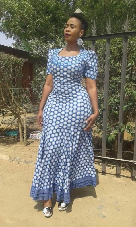 ef8f1efcd Here are some Beautiful South African shweshwe dress designs 2019  Collection, you can styles your Ankara fabric with the latest shweshwe  dress designs.