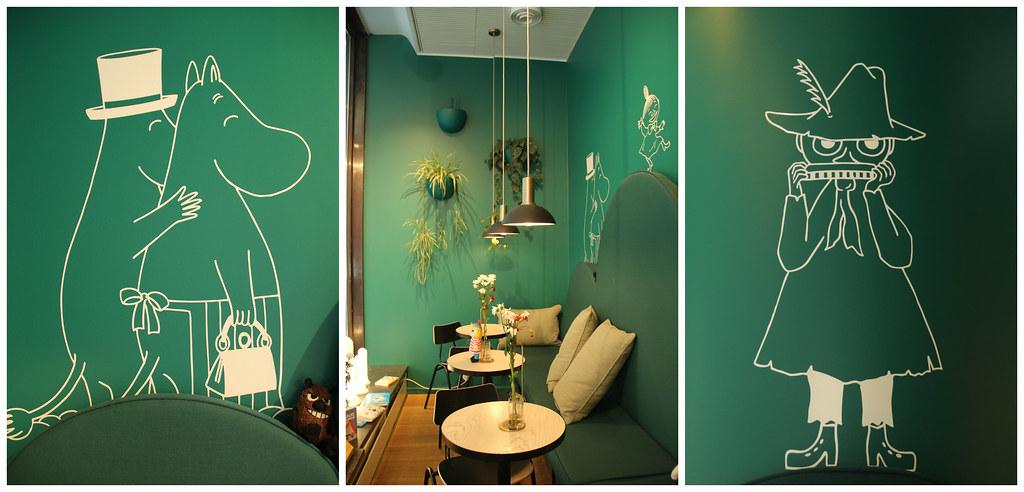 Moomin Cafe, Helsinki