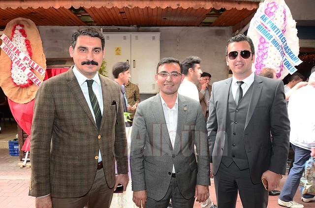 Hilmi Aydoğdu, Tahir Göktepe, Necati Şatana.