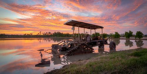 sony1635mmf4 sonya7rii penang georgetown balikpulau sunset reflections
