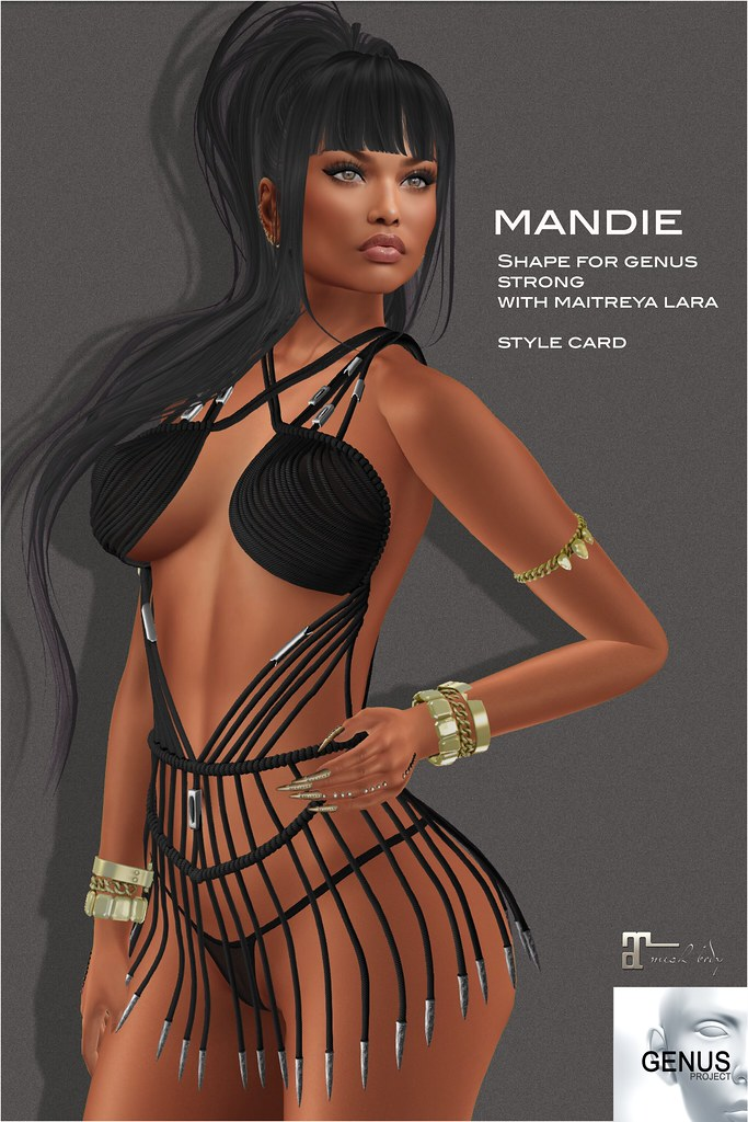 [Selene Creations] Mandie shape Genus Strong