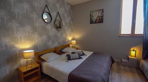 Chambre à l'Auberge des 5 lacs (Jura)