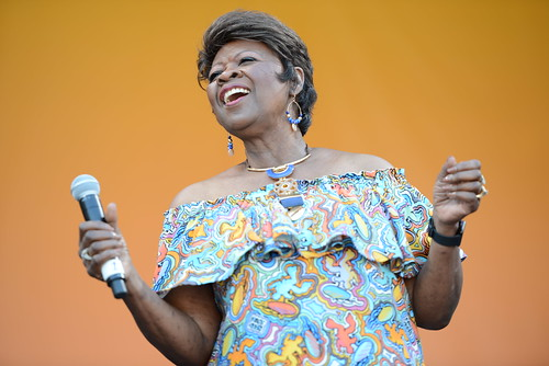 Irma Thomas on Day 4 of Jazz Fest - 4.28.19. Photo by Leon Morris.