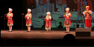 April 20' 19 Confucius Classroom StStudents Performed at the Sixth American Chinese Youth Arts Festival