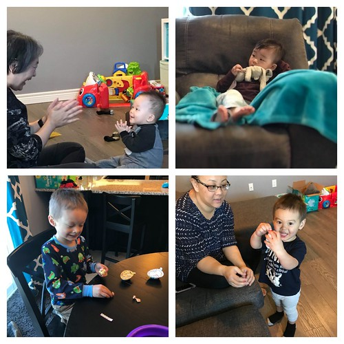 Just a few family photos from our short Easter get together!