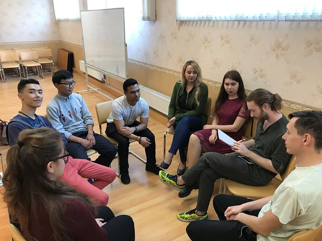 Russia-2019-04-26-Youth Roundtable Discusses 'National Idea'