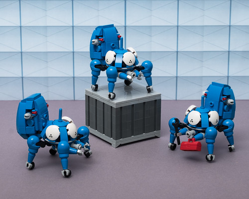 """Tachikoma (from """"Ghost in the Shell: Stand Alone Complex"""")"""
