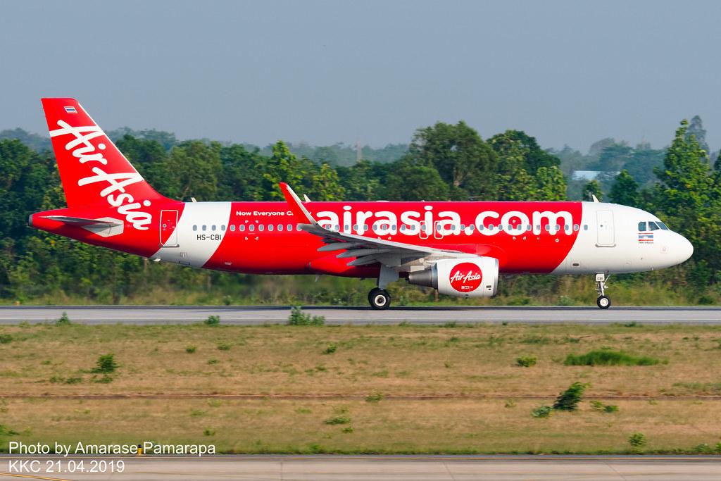HS-CBI // Thai AirAsia Airbus A320-216