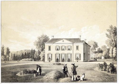 Lithografie van het huis Rennenenk