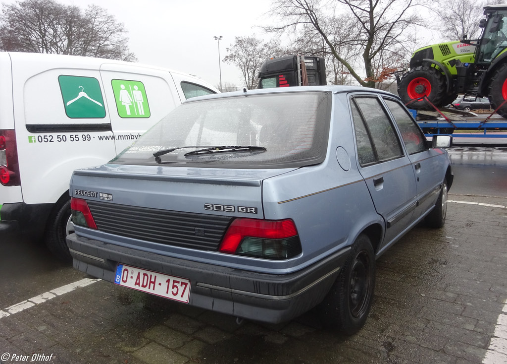 Peugeot 309 Gr Antwerpen Peterolthof Flickr