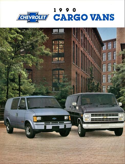1990 Chevrolet Cargo Vans
