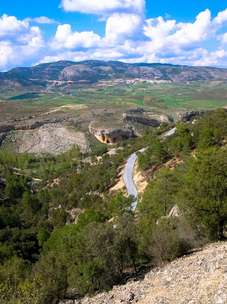 Las curvas hacia Santiago