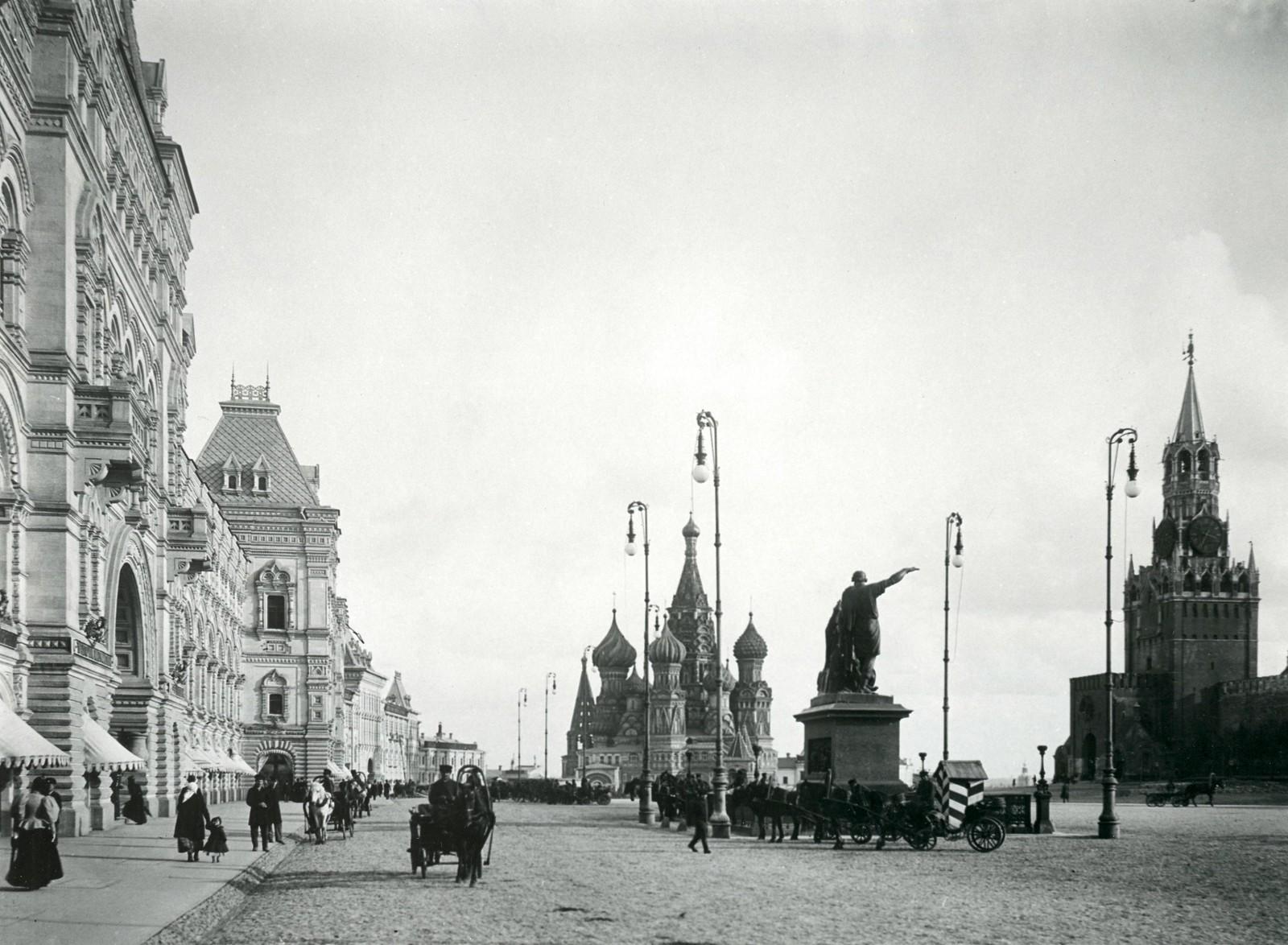 Красная площадь. 1890-е