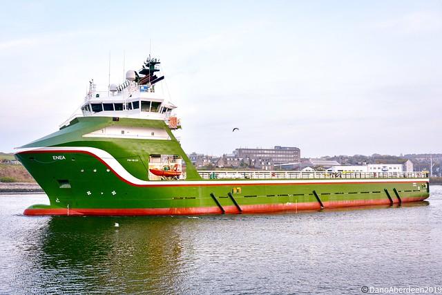 Enea - Aberdeen Harbour Scotland - 23rd April 2019