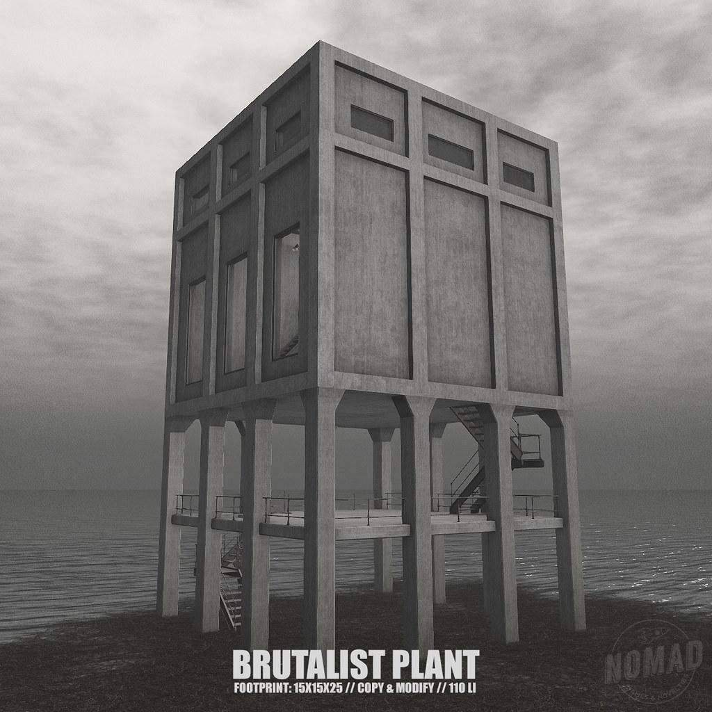 NOMAD // BRUTALIST PLANT