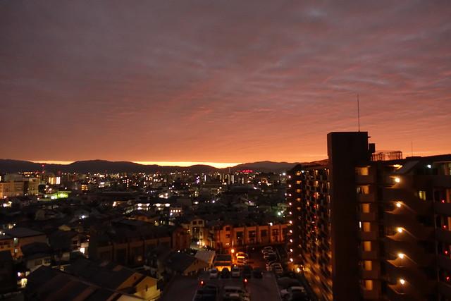 carmine sky