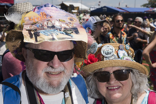 OffBeat hat on Jazz Fest day 2 on April 26, 2019. Photo by Ryan Hodgson-Rigsbee RHRphoto.com