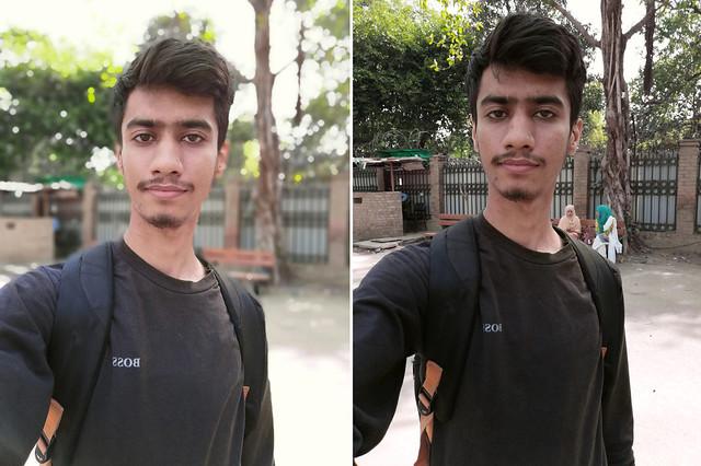 Selfie with Huawei P30 Lite