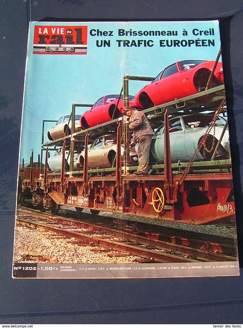 sncf vie du rail 1969 1202 CAMARSAC GERZAT MARINGUES OPEL RENAULT FUSO OVIEDO MORENA