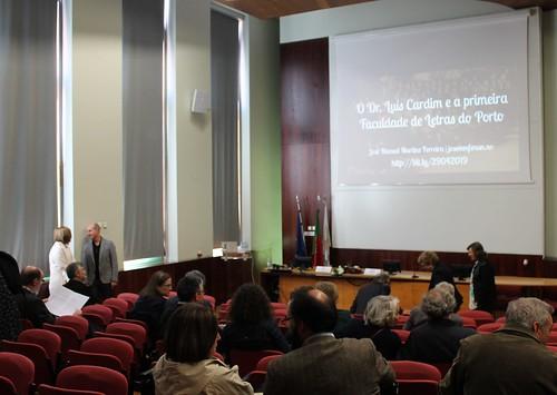 Palestra & Inauguração de Exposições no âmbito das Comemorações do Centenário da FLUP