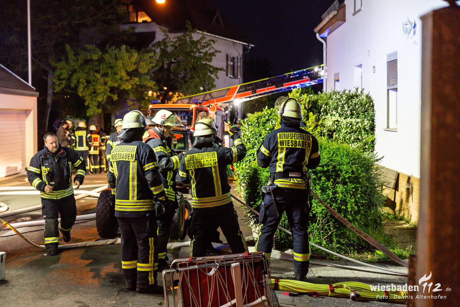 Brand in Wiesbaden-Igstadt 02.05.19